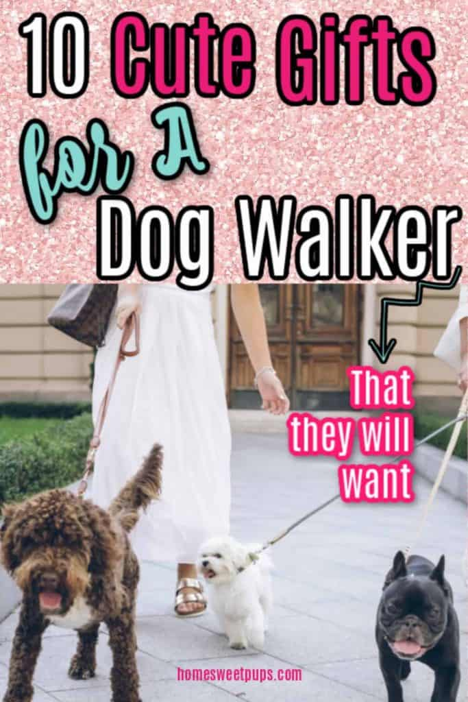 Cute Gifts For A Dog Walker